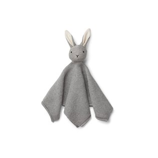 Milo Knit Cuddle Cloth - Rabbit Grey Melange