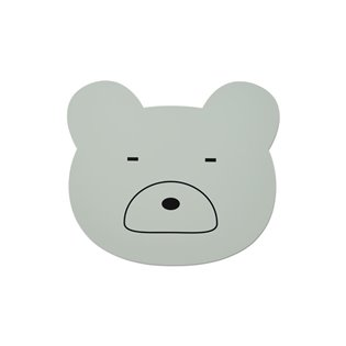 Aura Placemat - Bear Dusty Mint