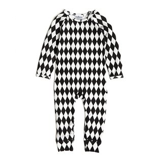 Harlequin Long Romper