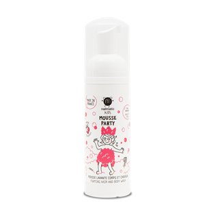 Nailmatic Kids Hair & Body Mousse - Strawberry