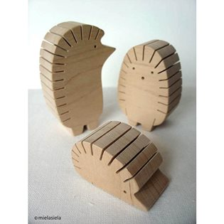 Hedgehog Desk Organiser