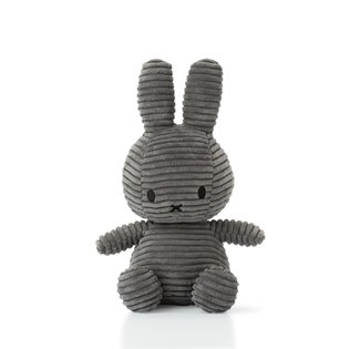 Miffy Corduroy Grey