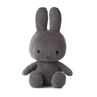 Miffy Corduroy Grey Extra Large