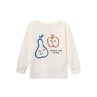 Apples And Pears Round Neck Sweatshirt