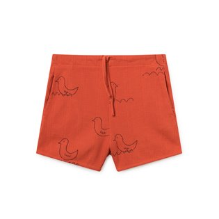 Geese Red Shorts