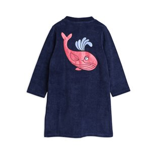 Whale SP Terry Robe - Navy