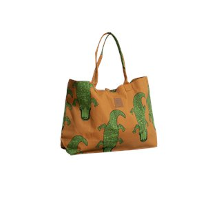 Crocco Beach Bag - Brown