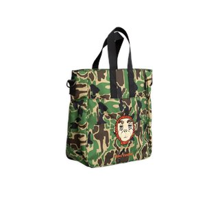 Camo Gym Bag - Green