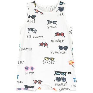 Beau Loves Baby Romper - Spectacles