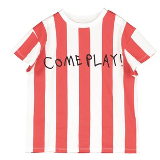 Beau Loves Short Sleeve T-Shirt - Deck Chair Stripe