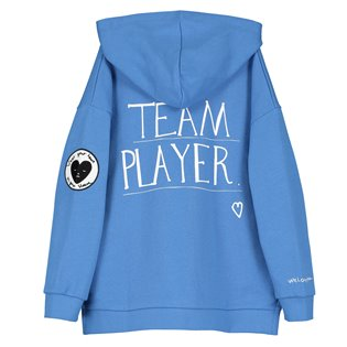 Beau Loves Zip Square Hoodie - Team Player