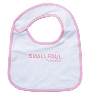 Paul Frank Reversible Bib - Pink