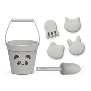 Dante Beach Set - Panda Dumbo Grey