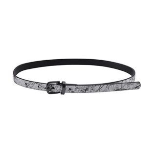 Molo Girls Neddy Belt - Cracked Silver