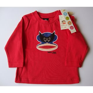Paul Frank - Mask Long Sleeved Red T-Shirt