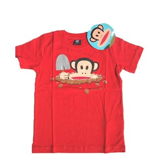 Paul Frank Short Sleeved Red T-Shirt