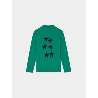 Stars Turtle Neck T-Shirt