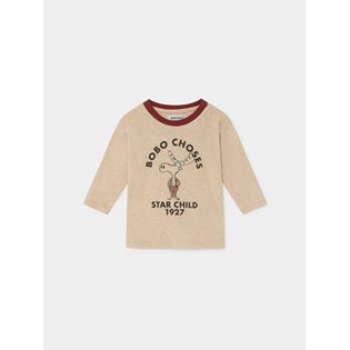 The Moose Long Sleeve Baby T-Shirt