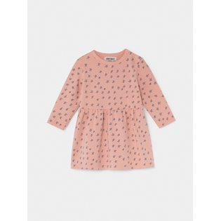 All Over Stars Fleece Baby Dress