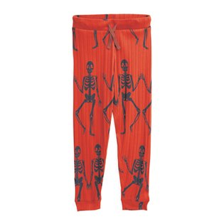 Skeleton AOP Trousers - Red
