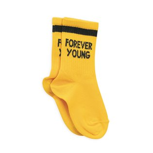 Forever Young Socks - Yellow