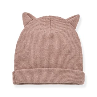 Paris Beanie W/Ears - Rose