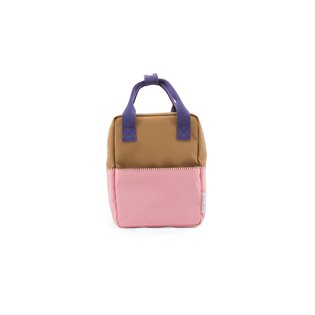 Small Backpack Colourblock - Panache Gold