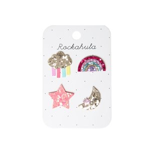 Rainbow Badge Set