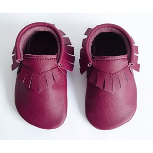 Amy & Ivor Moccasin - Plum