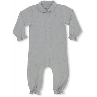 Onesie With Collar - Mille Marine / French Blue