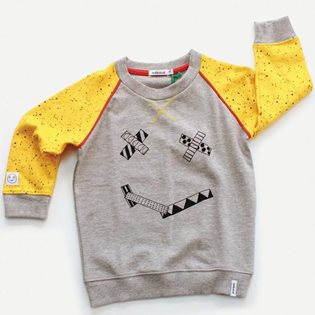 Smiles - Face Print Sweat