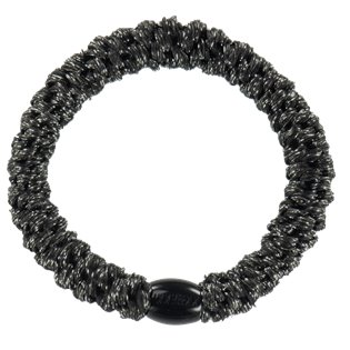 Kknekki Snag Free Hairband - Black Glitter