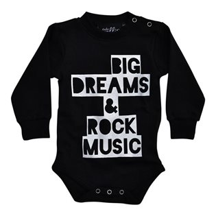 Big Dreams & Rock Music Bodysuit - LS