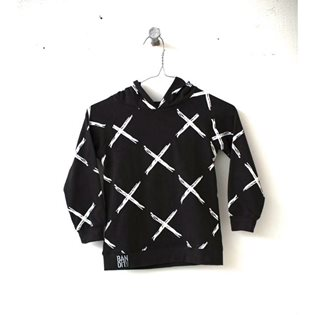 X Marks the Spot Hoodie - Faded Black