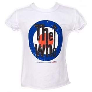 'The Who' Target Print T-Shirt