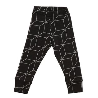 Nununu Grid Leggings - Black