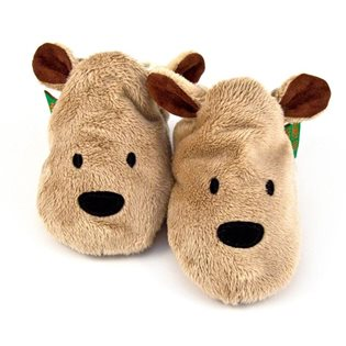 Brown Bear - Baby Shoes