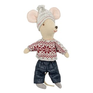 Maileg Mouse - Big Brother in Winter Clothes