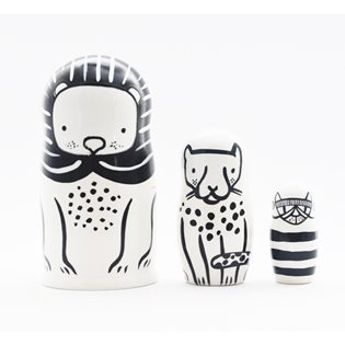Nesting Dolls - Cats Big & Small
