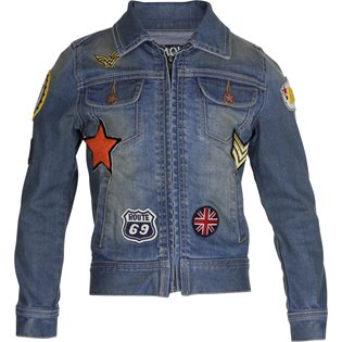 Molo Harper Blue Denim Jacket