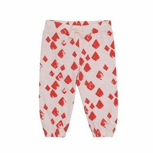 Noe & Zoe Baby Pants - Flamingo Diamonds