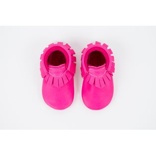 Amy & Ivor Moccasin - Hot Pink