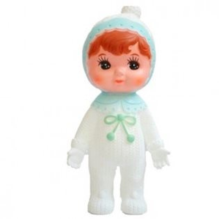 Lapin Woodland Doll - Pale Blue Snow Baby