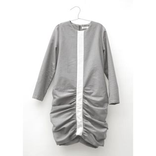 Motoreta Gunta Dress - Dark Grey