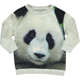 Loose Sweat - Panda Print
