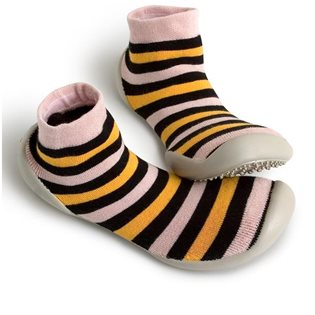 Neo Slippers - Pinky Stripes