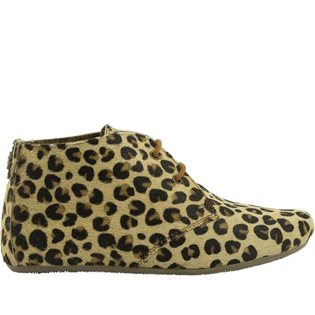 Gimlet Girl Hair on Leather Shoe - Leopard