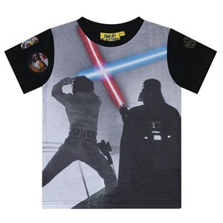 Star Wars Light Saber Battle T-Shirt
