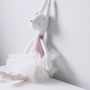 Clementine The Cloth Bunny Doll