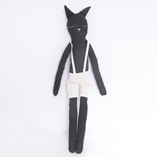 Corky The Cat Cloth Doll